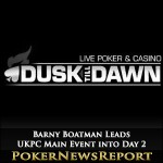Barny Boatman Leads UKPC Main Event into Day 2