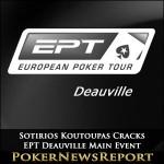 Sotirios Koutoupas Cracks EPT Deauville Main Event