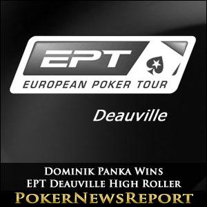 Dominik Panka Wins EPT Deauville High Roller
