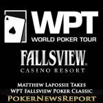 Matthew Lapossie Takes WPT Fallsview Poker Classic