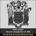 New Jersey Online Gambling up 28%
