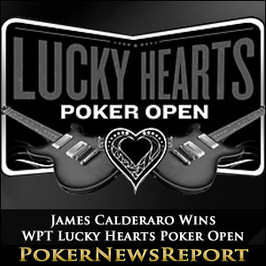 James Calderaro Wins WPT Lucky Hearts Poker Open