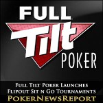 Full Tilt Poker Launches Flipout Sit n Go Tournaments