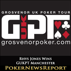 Rhys Jones Wins GUKPT Manchester