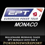 Millionaire Moennig Leads EPT Monaco into Day 4
