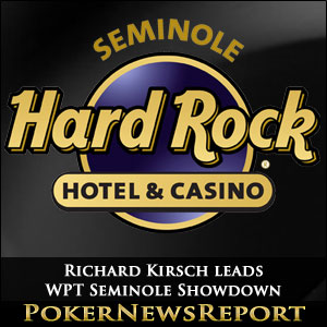 Richard Kirsch leads Record-Breaking WPT Seminole Showdown