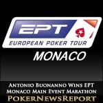 Antonio Buonanno Wins EPT Monaco Main Event Marathon