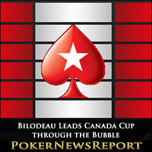Jeremie Bilodeau Leads Canada Cup through the Bubble