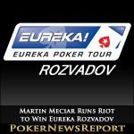 Martin Meciar Runs Riot to Win Eureka Rozvadov