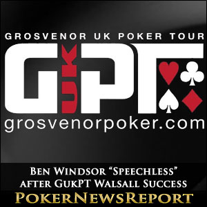 "Ben Windsor ""Speechless"" after GukPT Walsall Success"