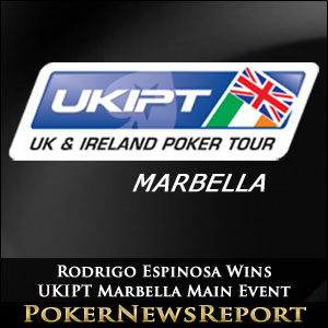 Rodrigo Espinosa Wins UKIPT Marbella Main Event