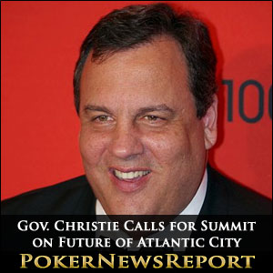 Gov. Christie Calls for Summit on Future of Atlantic City