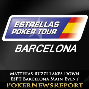 Matthias Ruzzi Takes Down ESPT Barcelona Main Event