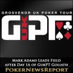 Mark Adams Leads Field after Day 1A of GukPT Goliath
