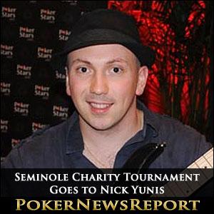 Seminole Charity Tournament Goes to Nick Yunis
