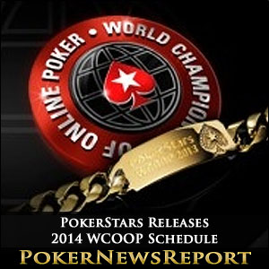 PokerStars Releases 2014 WCOOP Schedule