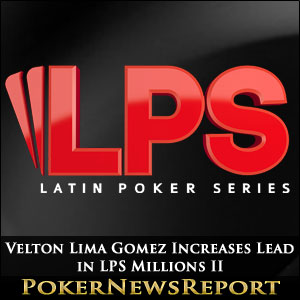 Velton Lima Gomez Increases Lead in LPS Millions II