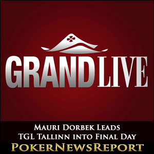 Mauri Dorbek Leads TGL Tallinn into Final Day
