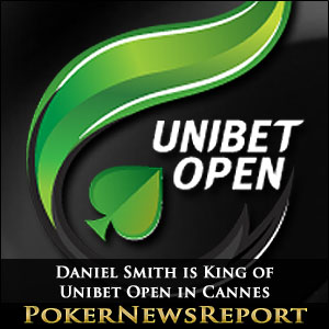 Daniel Smith is King of Unibet Open in Cannes