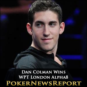 Dan Colman Wins WPT London Alpha8