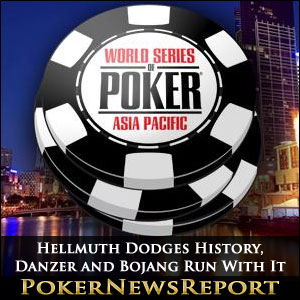Hellmuth Dodges History, Danzer and Bojang Run With It