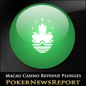 Macau Casino Revenue Plunges