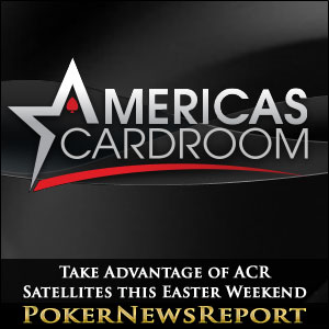 Take Advantage of ACR Satellites this Easter Weekend