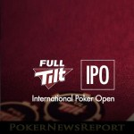 Full Tilt Takes Over International Poker Open Sponsorship