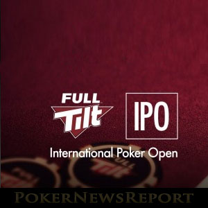 Full Tilt Takes Over International Poker Open Sponsorship