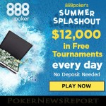 888Poker Splashing the Cash with Summer Splashout Promo