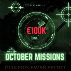 100K October Missions at Everest Poker