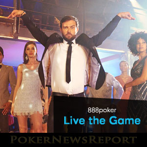 Live the Game at 888 Poker