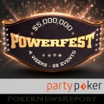 Party Poker´s Powerfest Series Starts this Sunday