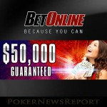 BetOnline Poker Offering Steps into $50K Guaranteed Event