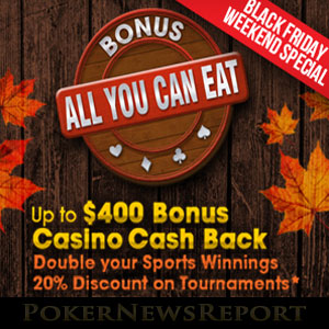 Americas Cardroom No Deposit Bonus at Thanksgiving