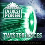 €12,500 Twister Races Running Weekly at Everest Poker