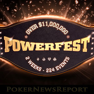 New PowerFest Schedule at Party Poker