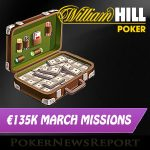 Win a Share of €135,000 in iPoker Network March Missions