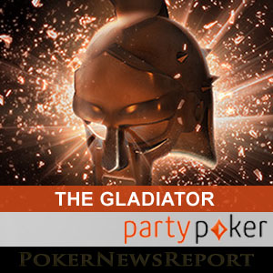 The Gladiator at Party Poker