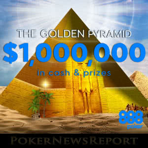 Golden Pyramid at 888Poker