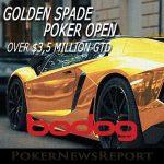 The 2017 Golden Spade Poker Open Returns at Bodog