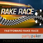 Party Poker to Run FastForward Rake Race Next Week