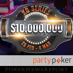 Progressive Knockout (PKO) tournaments at Party Poker