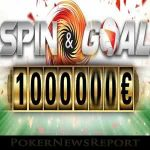 Win up to $1 Million in PokerStars Spin & Goal Game