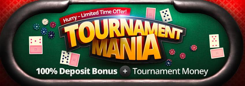 BetOnline Tournament mania Reload Bonus