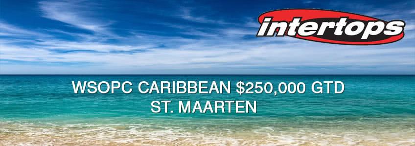 WSOPC Caribbean St. Maarten Packages at Intertops Poker