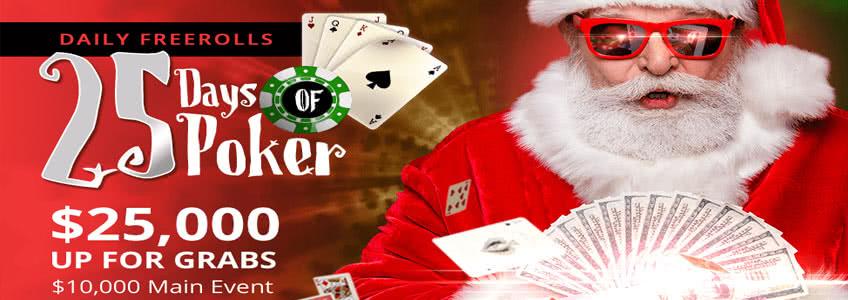 25 Days of Poker at BetOnline