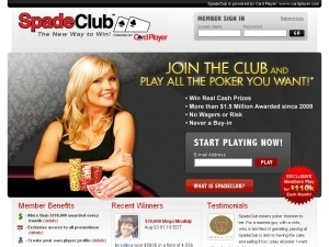 CardPlayers SpadeClub.com Poker Site Closes