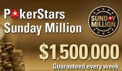 Sherkadil wins PokerStars Sunday Million