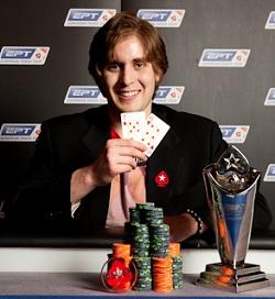 Ben Wilinofsky wins EPT Berlin for €825,000